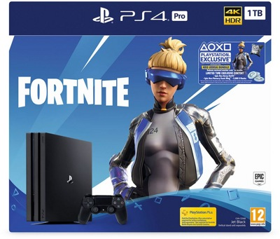 Игровая приставка SONY PlayStation 4 Pro 1TB + Fortnite (CUH-7208B)